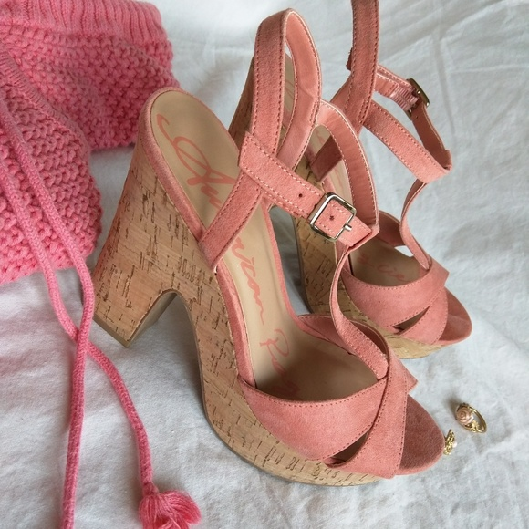 434a06f8a21 American Rag Shoes - American Rag Jamie Plush Pink Platform  Sandals